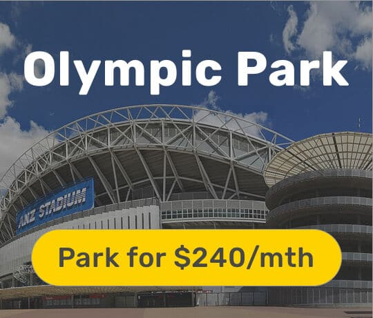 olympic park monthly parking