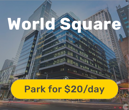 cheap world square parking